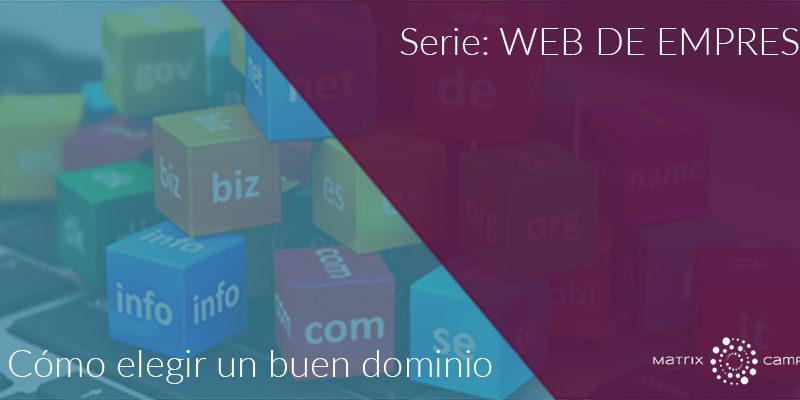 Serie: Web de empresa